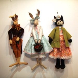 Fabric Characters